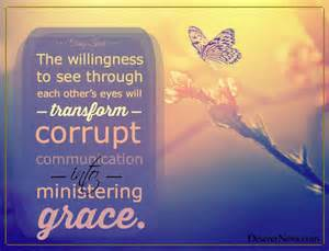ministering grace