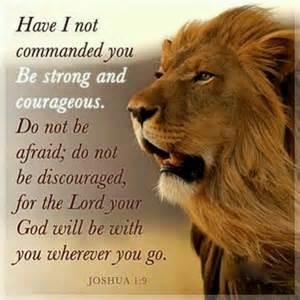 courage- joshua
